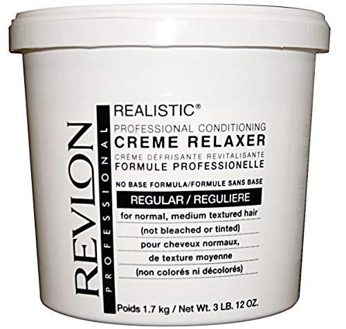 Revlon Realistic No Base Relaxer 60oz [reg] (Pack of 1)