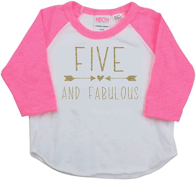 Bump And Beyond Designs 5 Year Old Birthday Shirt Girl Fifth Outfit