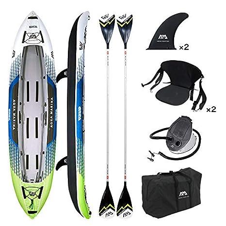 Aqua Marina Orca Inflatable Kayak: Amazon.es: Deportes y ...
