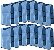 12 Pack Jerseys Bibs Breathable Adults Football Scrimmage Training Vests for Volleyball Soccer Basketball (Col