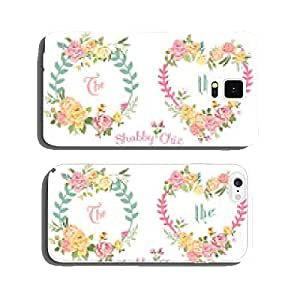 Flower Banners and Tags - for your design and scrapbook cell phone cover case iPhone6 Plus