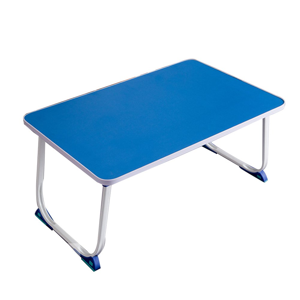 PENGFEI Laptop Stand for Desk Foldable Portable College Students Dorm Room Bed Use Table Breakfast Tray, 4 Colors, High 26CM (Color : 2#)