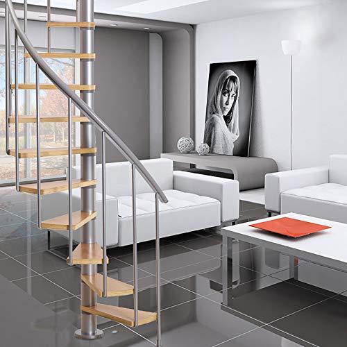 "Calgary 47"" Grey Spiral Staircase Kit"