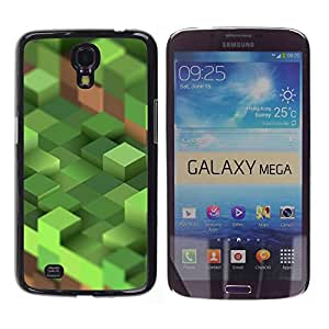 GagaDesign / Funda Carcasa protectora - Computer Mine Blocks Pc - Samsung Galaxy Mega 6.3 I9200 SGH-i527