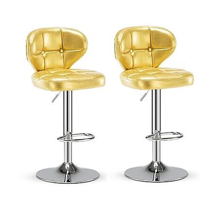Miraculous Amazon Com Qqxx Bar Stool Breakfast Counter Chair Swivel Machost Co Dining Chair Design Ideas Machostcouk