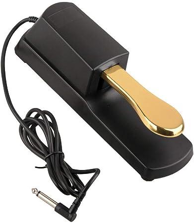 Teclado pedal de resonancia Damper Pedal de sostenido con ...