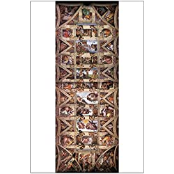 "CafePress - Sistine Chapel Ceiling - 23""x35"" High Quality Poster on Heavy Semi-gloss Paper"