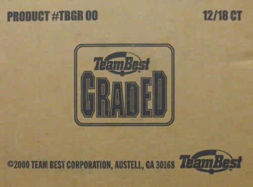 (2000 Team Best Graded Baseball Hobby 12-Box Case )