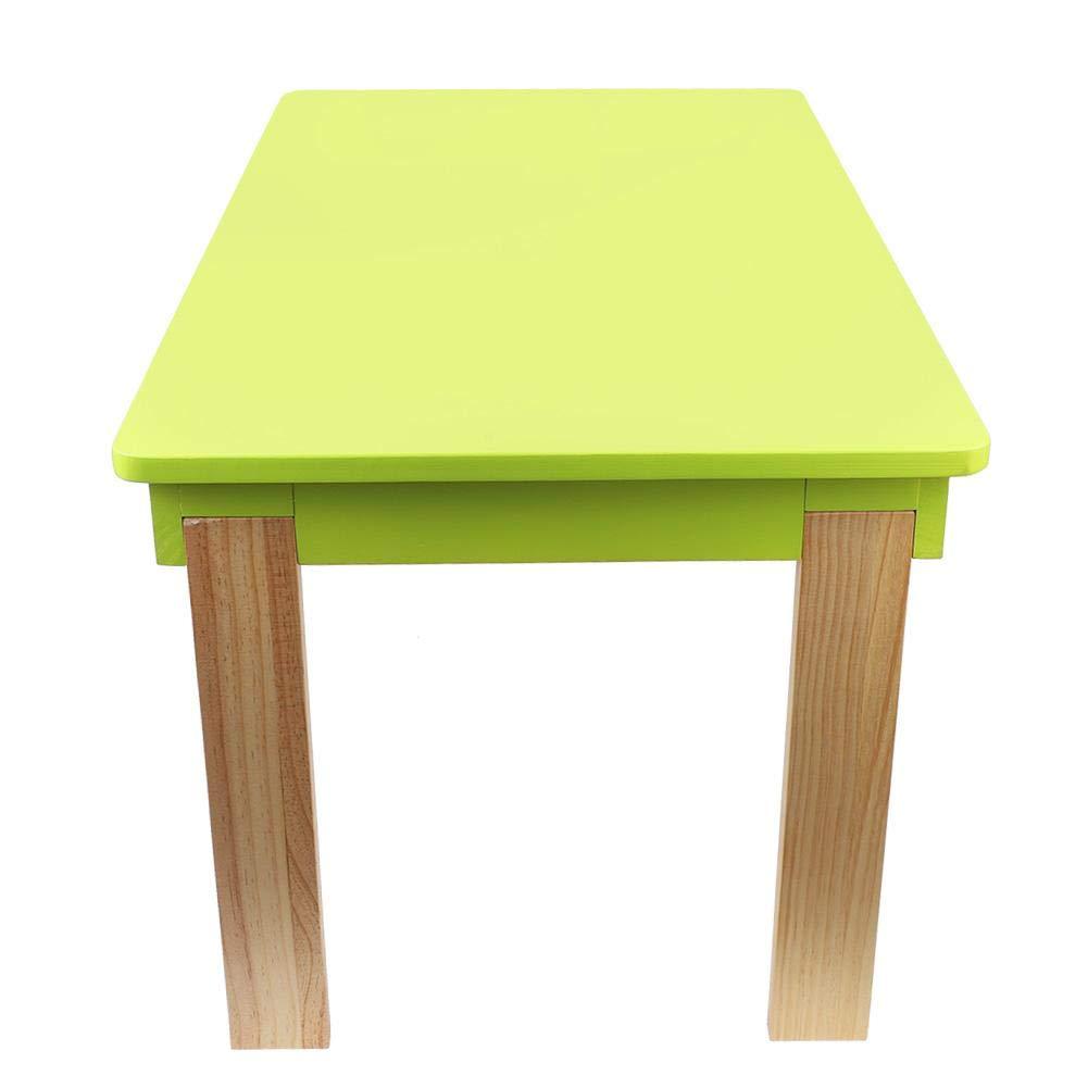 Holz 44,5 cm EBTOOLS Klappbarer Kindertisch Kinderm/öbel Maltisch Beistelltisch Spieltisch Play Kinderspieltisch mit 2 Schubladen Tisch f/ür Kinder 80 50