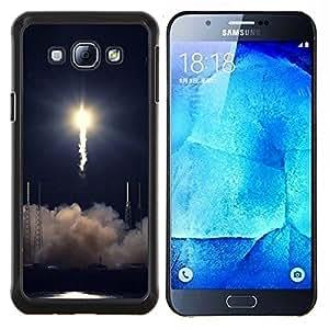 """For Samsung Galaxy A8 ( A8000 ) , S-type Naturaleza Hermosa Forrest Verde 134"""" - Arte & diseño plástico duro Fundas Cover Cubre Hard Case Cover"""