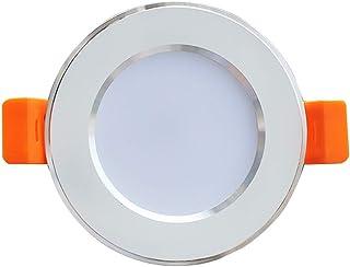 LED Einbau-Strahler Set 230V Decken Spot Lampe Leuchte Rahmen Decke 1,5W hg30-2