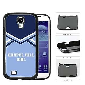 Chapel Hill City Girl School Spirit Cheerleading Uniform Samsung Galaxy S4 I9500 Hard Snap on Plastic Cell Phone Cover