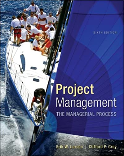 Project Management: The Managerial Process (McGraw-Hill Series Operations and Decision Sciences) boo