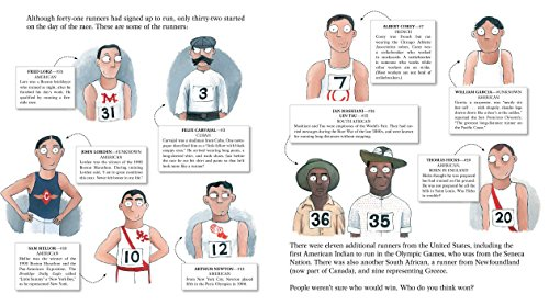 The Wildest Race Ever: The Story of the 1904 Olympic Marathon by Simon & Schuster/Paula Wiseman Books (Image #2)