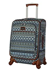 Nicole Miller New York Chantelle Collection 28 Expandable Luggage Spinner