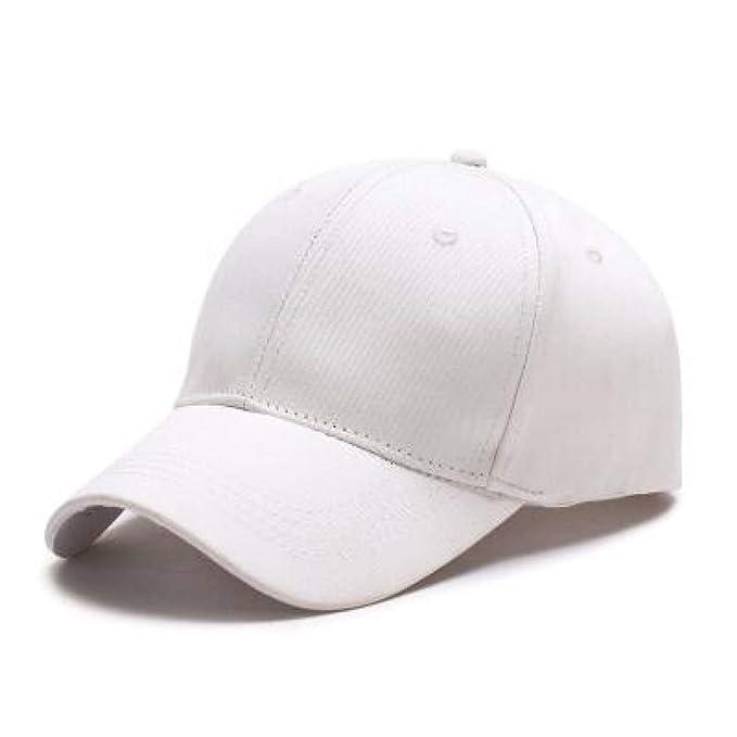 ... para Mujer Marca de Moda para Hombre Calle Hip Hop Gorras Ajustables Gamuza Sombreros para Hombre Negro Gorras Blancas: Amazon.es: Deportes y aire libre