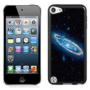 NEW Unique Custom Designed iPod Touch 5 Phone Case With Swirling Spiral Galaxy_Black Phone Case