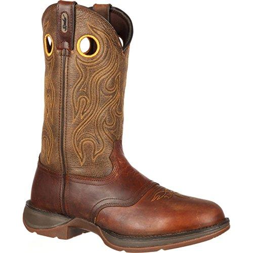 Durango Men's DB5468 Western Boot, Sunset Velocity/Trail Brown, 10 M US ()