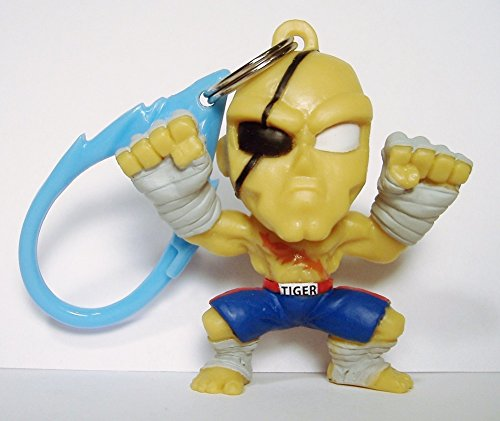 Street Fighter Collectible Mini Backpack Figure ~ Sagat (Opened to Identify)