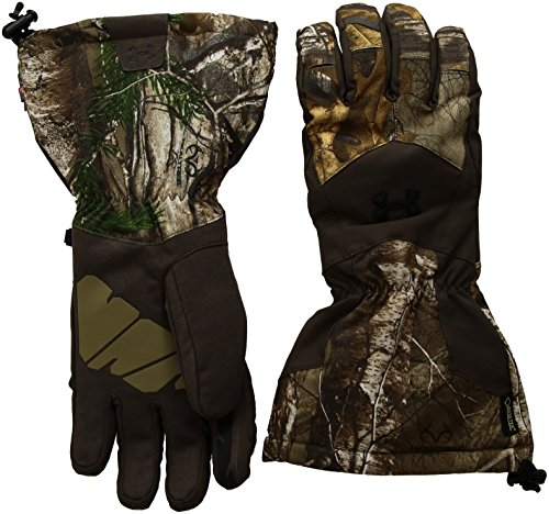Gore Tex Insulated Gloves - Under Armour Men's Scent Control Gore-TEX Insulator 2.0 Gloves, Realtree Ap-Xtra (946)/Black, X-Large