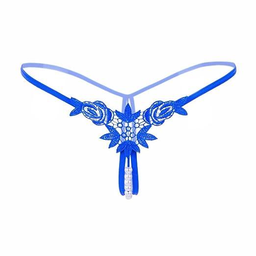 Sunheit Stickerei Perlen String Tanga V-string Slip Erotik Unterwäsche Damen