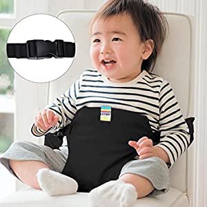 ghb portable baby feeding chair belt toddler safety seat with straps child chair. Black Bedroom Furniture Sets. Home Design Ideas