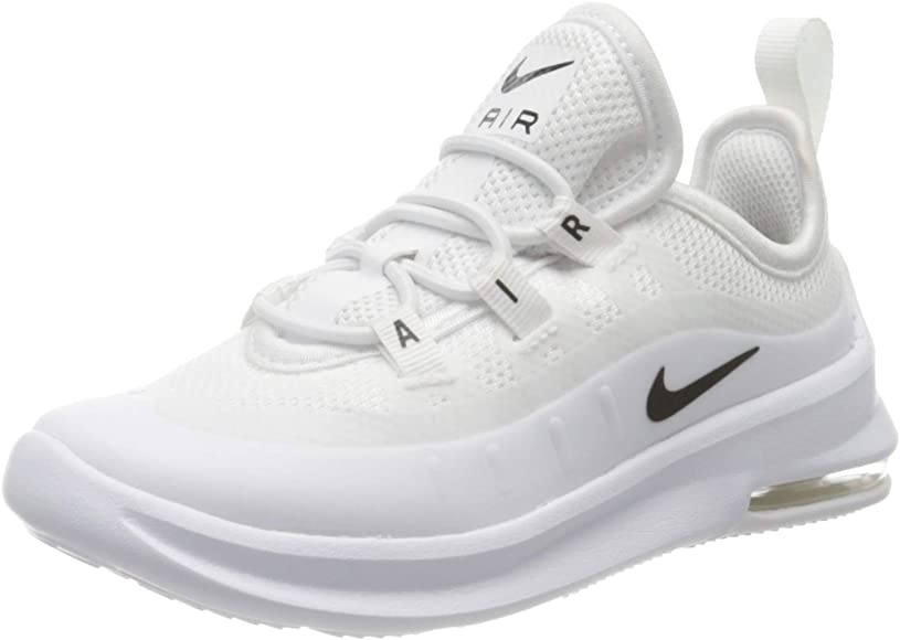 Nike Air MAX Axis (TD), Zapatillas de Atletismo para Niños, Multicolor (White/Black/White/White 100), 27 EU: Amazon.es: Zapatos y complementos
