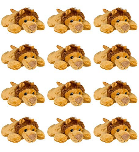 Wildlife Tree 12 Pack African Lion Mini 4