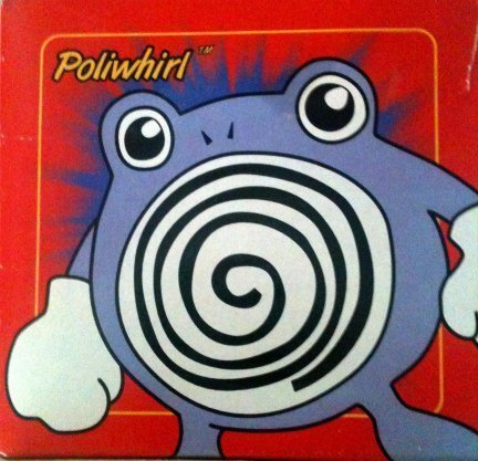 Pokemon 23K Gold-Plated Trading Card #61 Poliwhirl ()