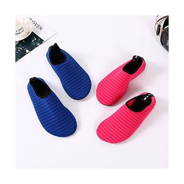 Bopika Barefoot Shoes Water Sports Shoes Quick-Dry Aqua Yoga Socks for Women Men Kids
