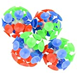 "Neliblu 2"" Fun Suction Balls Bulk Pack 1 Dozen"