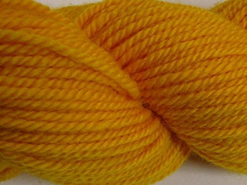 Sport Weight Wool Yarn (100% Organic Wool Yarn - Sport Weight - Citrus (50 Gram)