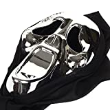 Scared Face Mask Crazy Ghost Scream For Costume Party Dress Halloween Carnival