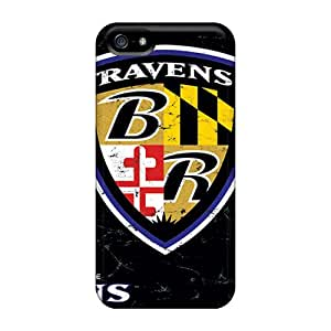 VTY5341pfhJ Tpu Case Skin Protector For Iphone 5/5s Baltimore Ravens With Nice Appearance