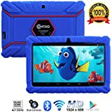 "Contixo Kids Tablet K2 | 7"" Display Android 6.0 Bluetooth WiFi Camera Parental Control for Children Infant Toddlers Includes Tablet Case (Dark Blue)"