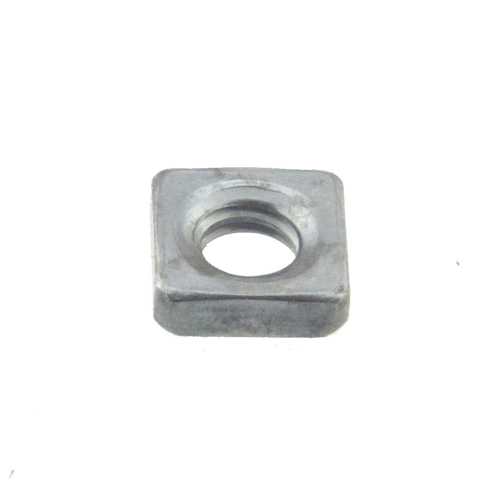 Vierkantmutter DIN 562 04 Stahl blank niedrige Form M 5 - 100 Stü ck SchraubenGigant