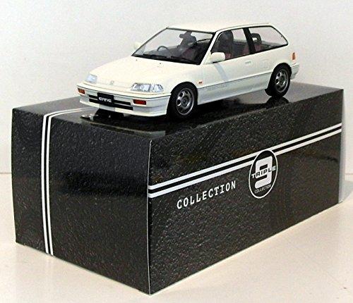 Triple 9 1/18 Scale T9-1800104 - 1987 Honda Civic EF3 Si - White