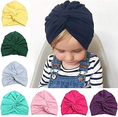 Gorros de bebé Bebé recién nacido moda lindo sombrero bufanda chico ...