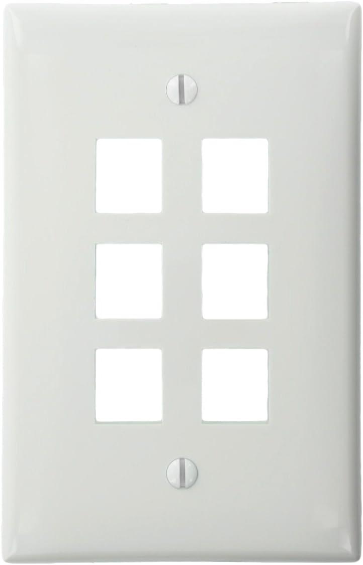 Leviton 192-41091-6WN 41091-6WN, White