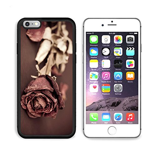 MSD Premium Apple iPhone 6 Plus iPhone 6S Plus Aluminum Backplate Bumper Snap Case IMAGE 19662870 Single dried rose Dead rose with text area Processed with vintage - Vintage Single Vi Iron