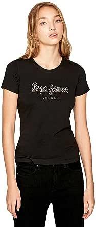 Pepe Jeans Optic White Camiseta para Mujer