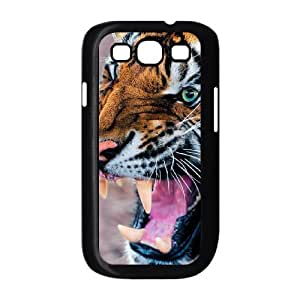Tiger MOuth Open Case For Samsung Galaxy S3 Black