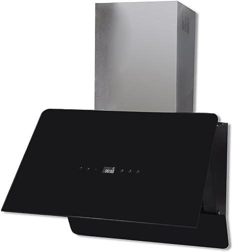 vidaXL Extractor Negro de Cocina de Cristal con Pantalla, 600 mm: Amazon.es: Grandes electrodomésticos