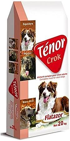 FLATAZOR Pienso Comida para Perros Adultos TÉNOR CROK 20Kg
