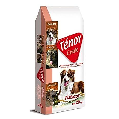 FLATAZOR Pienso Comida para Perros Adultos TÉNOR CROK 20Kg: Amazon.es: Productos para mascotas