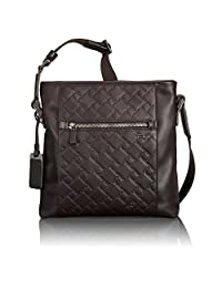 Tumi Ticon Slim Leather Crossbody, 31104, Dark Brown