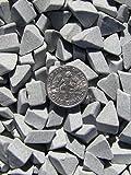 6 Lb. 1/4'' X 3/8'' Abrasive Ceramic Tumbling Tumbler Tumble Media M-GENERAL PURPOSE