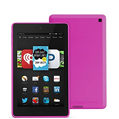 "Fire HD 6, 6"" HD Display, Wi-Fi, 16 GB - Includes Special Offers, Magenta"