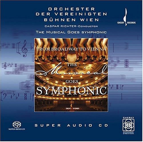 From Broadway to Vienna: The Musical Goes Symphonic by Chesky Records