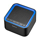 AVANTEK White Noise Sound Machine with 20 Non-Looping Soothing Sounds, 30 Levels of Volume and Maximum 7-Hour Timer Setting for Baby Adult Sleeping (Black)